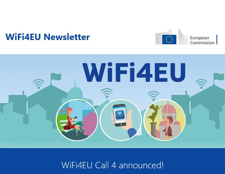Четвърто, последно повикване на инициативата WiFi4EU